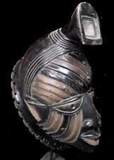 Old Tribal Yoruba Ceremonial Mask avec verre --- South West Nigeria BN 3