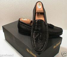 Allen Edmonds Rimini Black Woven Loafer Shoe 9 B New In Box