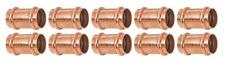 10 Pcs 34 Propress Coupling Pxp Copper Plumbing Fittings Lead Free