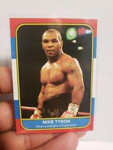 Mike Tyson Sports Journal 86 FLEER Style Retro Promo Sports Journal Card !