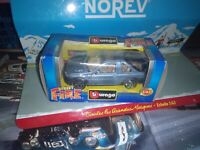 BURAGO STREET FIRE 1:43 FREELANDER METALLIC LIGHT BLUE NEUF EN BOITE