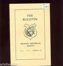 BULLETIN   Vol  4   # 15     Military Historical Society   Feb.  1954