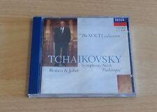 TCHAIKOVSKY: SYMPHONY NO.6 ETC - CHICAGO SYMPHONY ORCHESTRA / SOLTI - CD MINT