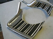 67 1967 CHEVELLE ELCAMINO SS OUTER PAIR OF GRILL EXTENSIONS
