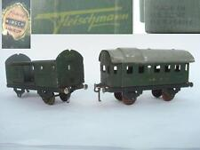 1945 US ZONE GERMANY MODEL TRAIN WAGON CARS – SET OF 2