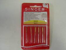 Singer Sewing Machine Agujas 80/11 Bola Punto forknits