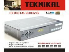 Teknikal HD Freeview Set Top Box Player & Recorder For Digital UK TV Channels