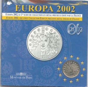 Coffret MDP médaille argent Europa 2002