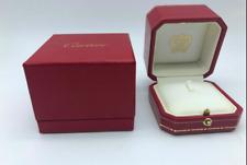 GENUINE CARTIER ring case box jewelry 0311005m