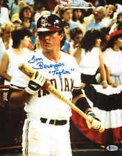 Tom Berenger Signed Major League Movie 11x14 Photo BAS Beckett COA Baseball Auto
