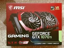 New listing Msi GeForce Gtx 1070 Ti Gaming Videocard with box