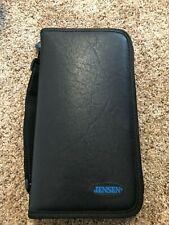 Vintage Jensen Leather 48 CD/DVD Case/Holder Carrying Case
