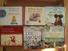 Hörbücher6  Stück Romane