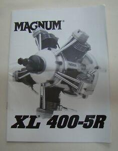 Magnum XL-400 Radial Engine Original Instruction Manual (569)