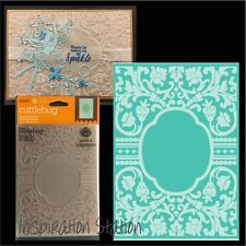 Cuttlebug embossing folders BAROQUE VINE FRAME 5 x 7 folder frames,Anna Griffin