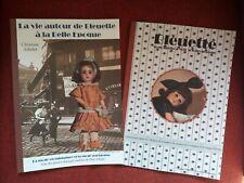 Lot de 2 livres Bleuette, Le Trousseau de Bleuette et la vie autour de Bleuette