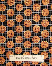 Chocolate Chip Cookie Fabric ~ Cotton By The Yard ~ Windham In The Mix Kitchen