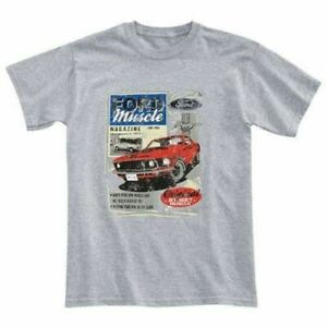 Ford Muscle Magazine Vintage Ad T-Shirt - Great Classic Mustang Design FREE SHIP
