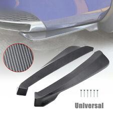 Universal Car SUV Bumper Spoiler Rear Lip Canard Diffuser Rear Wrap Angle Shovel