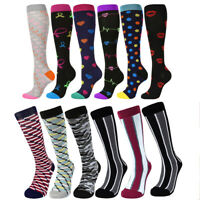 18-20mmhg Compression Socks Pain Relief Calf Leg Foot Support Stocking Men&Women
