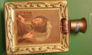 """Vintage Beam's Choice """"Boy Holding A Flute"""" Whiskey Frans Hals Bottle,Empty 71'"""