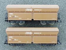 Lima 320735 Minitrain 2x Selbstentladewagen RAG Kohle DB 1602-24-58