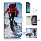 iPhone ( 8 Plus / 8+ ) Flip Wallet Case Cover P2240 Mountaineer