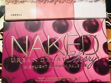 URBAN DECAY NAKED CHERRY HIGHLIGHT & BLUSH PALETTE 3 SHADES BOXED AUTHENTIC~BNIB