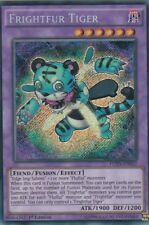 YuGiOh CARD 1 X FRIGHTFUR TIGER FUEN-EN022  SECRET RARE 1ST EDITION