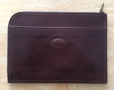 Gianni Conti ( Italy ) Genuine Real Leather Folio / Document Holder / Wallet A4