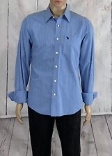 Abercrombie Muscle Size XL Men's Shirt Slim Fit Button Front Long Sleeve Cotton