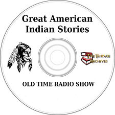 Great American Indian Stories- OTR MP3 CD - Old Time Radio Show