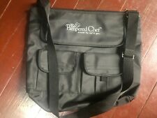 The Pampered Chef Black Canvas Consultant Bag