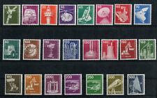 Berlin Dauerserie Industrie und Technik 23 Werte postfrisch 1975 - 1982