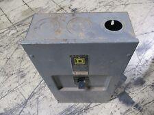 Square D Enclosed Circuit Breaker Lal36250 250A 600V 3P Used