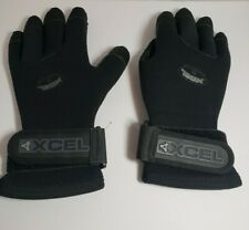 XCEL 5/4 mm Titanium Scuba Diving Gloves Snorkeling Dive Size Small Glove