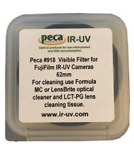 Peca IR-UV 62mm #918 Visible Filter for IR-UV Cameras