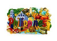 3D Resin Fridge Magnet Tourist Travel Souvenir Memorabilia - Philippines