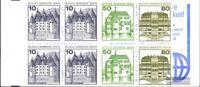 Berlin (West) MH13b mit Zählbalken (kompl.Ausg.) postfrisch 1982 Burgen und Schl