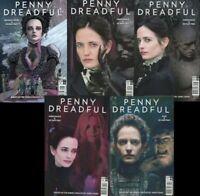 Penny Dreadful Set Showtime Prequel Guillem March Variants 1 2 3 4 5 NM
