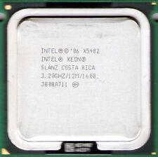 Lot of 2 pc Intel Xeon X5482 3.2 GHz Quad-Core 12MB 1600MHz LGA771 CPU Processor