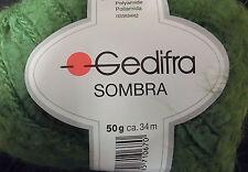 (99 €/kg): 950 Gramm Gedifra SOMBRA für Kuschelmaschen, Farbe grün 3067    #1631