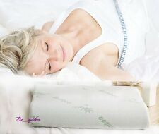 NEW Rectangle Sleeping Pillow Zipped Washable Memory Foam Cooling Pillow B