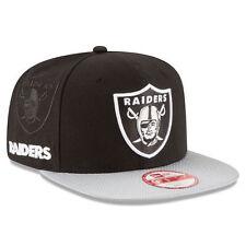 Oakland Raiders New Era NFL 2016 Sideline Snapback 9Fifty Hat
