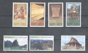 (875706) Manuscript, Mountain, Temple, Small lot, Miscellaneous, Laos