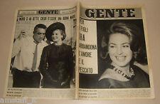 GENTE 1963/47=ANTHONY QUINN=ORNELLA VANONI=BEATLES=ETTORE MUTI=ASCARI=