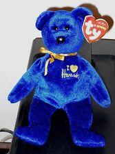 Ty Beanie Baby ~ OMNIA the Bear w/ GOLD HEART (Harrods UK Exclusive) ~ MWMT'S