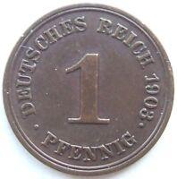 Top! 1 Pfennig 1903 E En Extremely fine