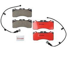 For Lexus LS460 Sport Package Front Brake Pad Set Ceramic 2 Sensors Lube Brembo