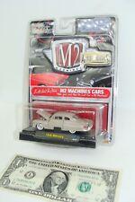 M2 Machines Auto-thentics Castline- RR  Rel-6 Gray 1949 Mercury
